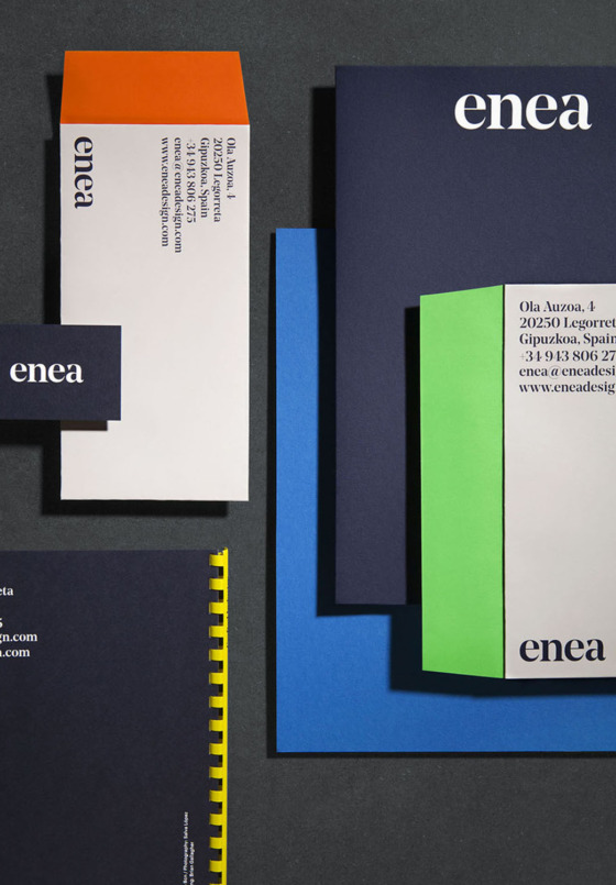 corporate stationery enea clase bcn – Clase bcn