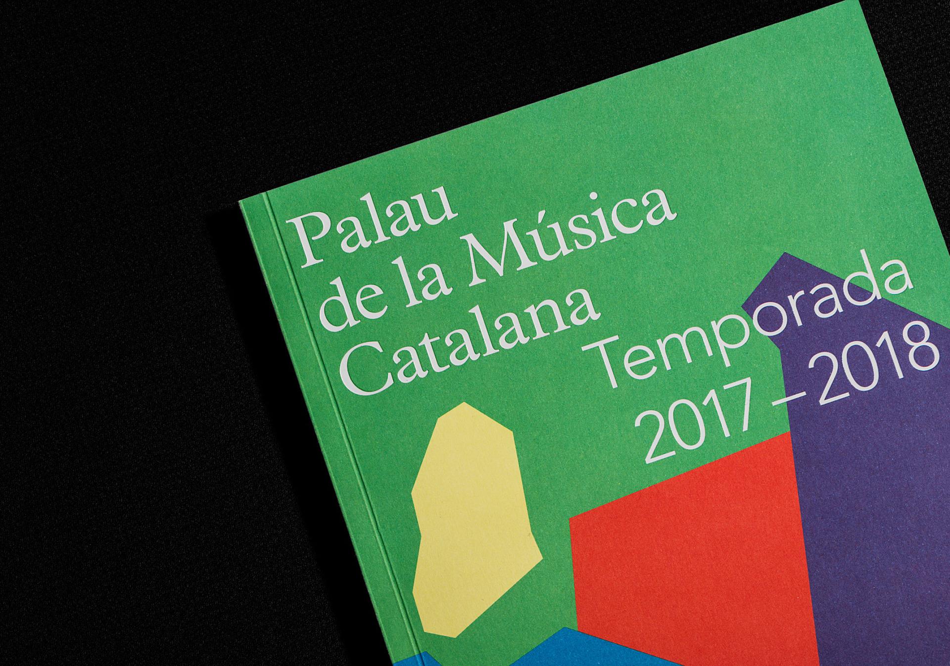 identidad corporativa y editorial palau de la musica clase bcn – Clase bcn