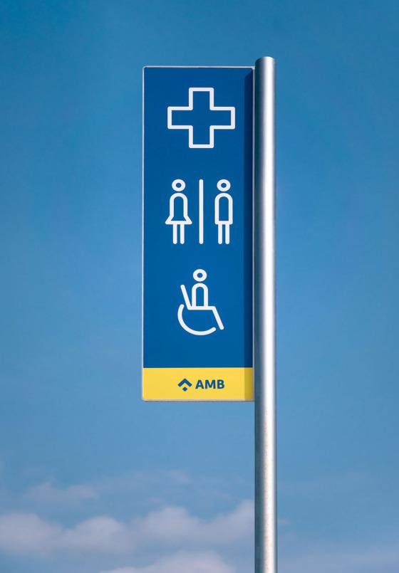Signage, AMB – Clase bcn