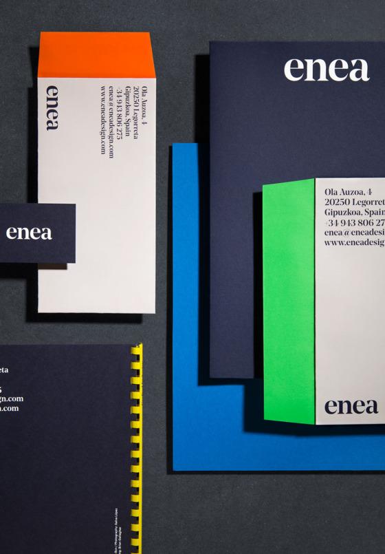 services branding enea clase bcn – Clase bcn