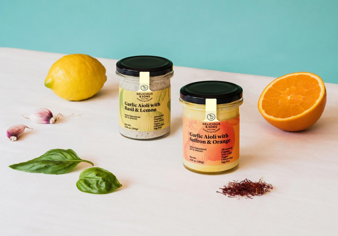 packaging design delicious and sons clase bcn – Clase bcn