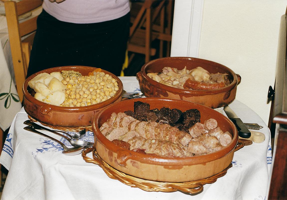 Receta de la abuela de Sergi: Escudella i carn d'olla (cocido catalán) – Clase bcn