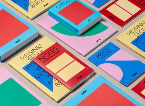 graphic design art direction arper 2018 clase bcn