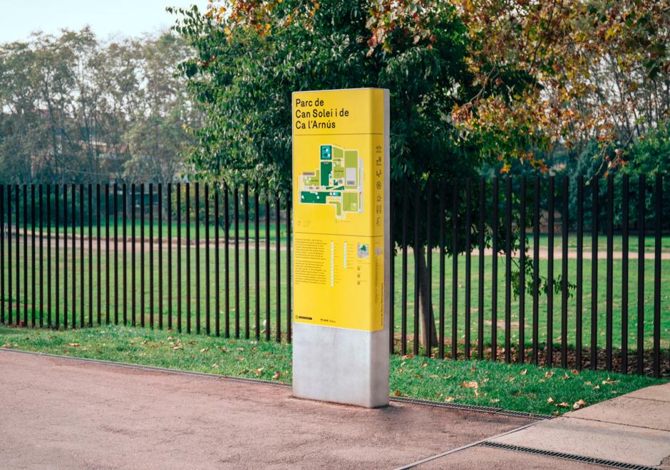senaletica parques area metropolitana de barcelona amb clase bcn – Clase bcn