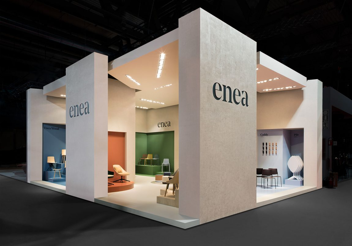 stand interior design architecture creative direction enea clase – Clase bcn
