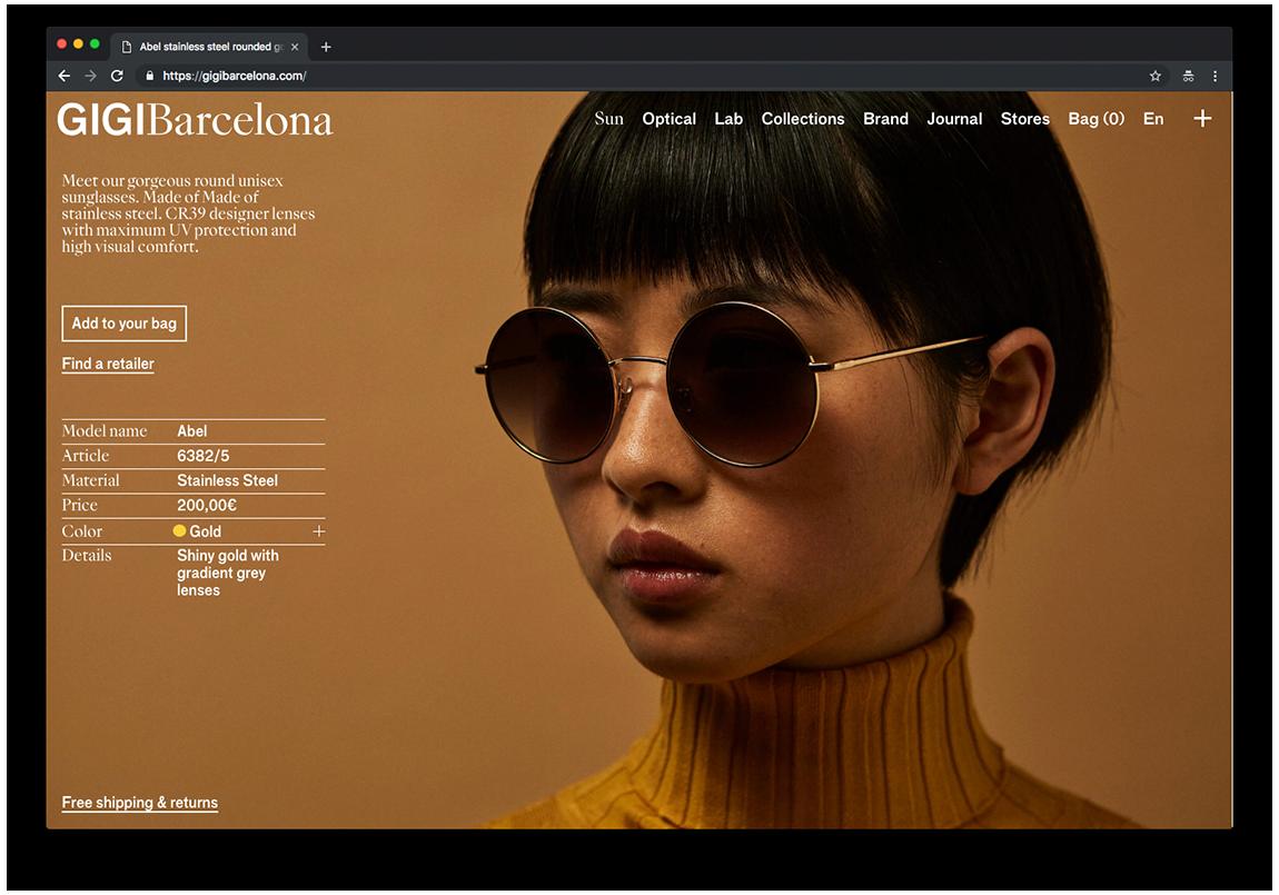 web design gigi barcelona clase bcn – Clase bcn