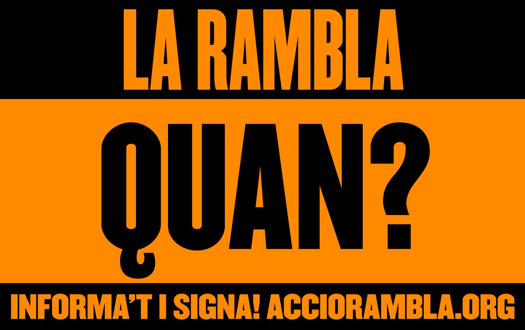 Acció Rambla – Clase bcn